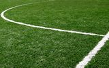 Artificial grass is mostly spread on soccer fields.